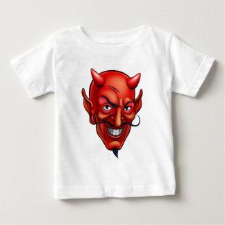 De Cartoon van het Gezicht van de duivel Baby T Shirts