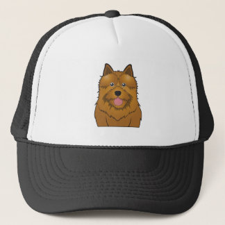 De Cartoon van Norwich Terrier Trucker Pet