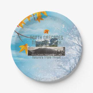 De Cascades van het Noorden ABH Papieren Bordje