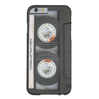 De Cassette Mixtape van de douane Barely There iPhone 6 Hoesje