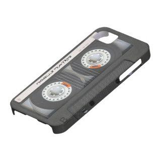De Cassette Mixtape van de douane iPhone 5 Cases