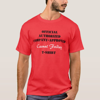 De CASUAL T-shirt van de VRIJDAG