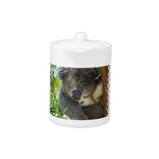 De casual Theepot van de Koala
