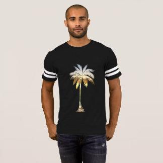 De casual Trendy Hete Zonsondergang van het Strand Voetbal Shirt