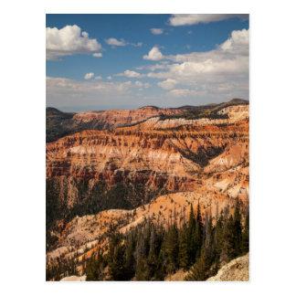De ceder breekt Nationaal Monument, Utah Briefkaart