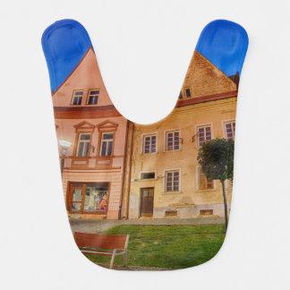 De centrale plaats van Bardejov Baby Slabben