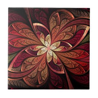 De ceramiektegel van de Rouge van La Chanteuse Keramisch Tegeltje