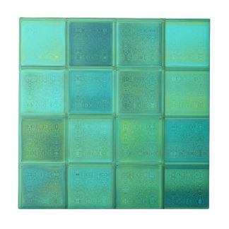 De ceramiektegel van het Mozaïek van het Glas van  Tegeltje