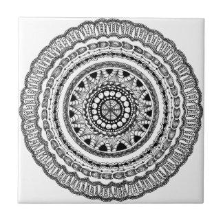 """De ceramiektegel van """"Queste"""" van Zendala Keramisch Tegeltje"""