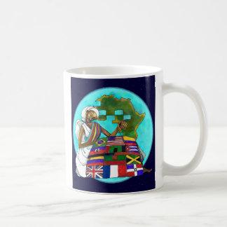 """""""De ceramische mok Diaspora van het Dekbed"""""""