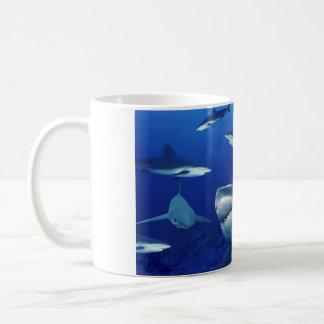 De ceramische mok-Haaien van de Koffie Koffiemok