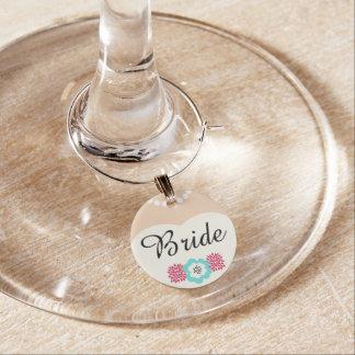 De Charme van de Wijn van het Huwelijk van de Wijnglasring