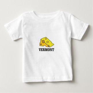De Cheddar van Vermont Baby T Shirts