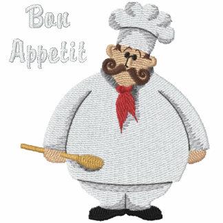 De Chef-kok van Appetit van Bon - pas aan Geborduurd Fleece Track Jack