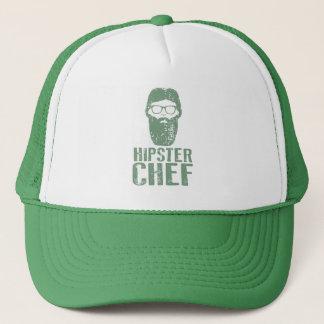 De Chef-kok van Hipster Trucker Pet