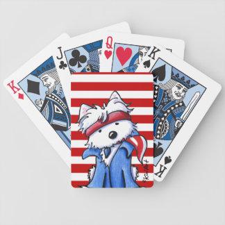 De Chef- Speelkaarten van Westie Poker Kaarten