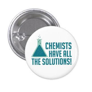De chemici hebben Alle Oplossingen Ronde Button 3,2 Cm