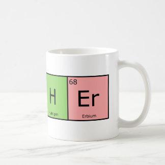 De chemische Leraar van Elementen Koffiemok