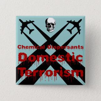 De chemische Verspreiders zijn Binnenlands Vierkante Button 5,1 Cm