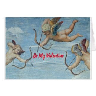 De Cherubijnen van Valentijn Kaart