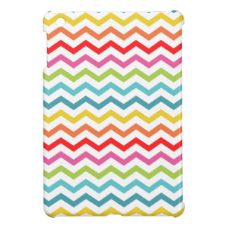 De chevron van PixDezines/diy kleur als iPad Mini Hoesje