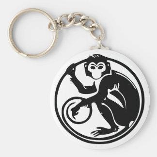 De Chinese Aap 猴 Keychain van de Kalender van de Sleutelhanger