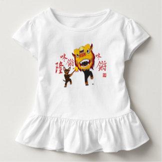 De Chinese Kleding van het Baby van de Speld van Kinder Shirts