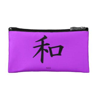 De Chinese Kosmetische Zak van het Symbool van de Make-up Bag