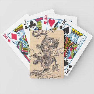 De Chinese Speelkaarten van de Draak Pak Kaarten