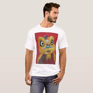 De Chinese T-shirt van de Leeuw van de Dans van de
