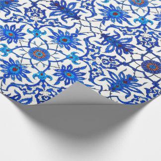 De Chinese Tegel van de Jugendstil - het Blauw & Inpakpapier