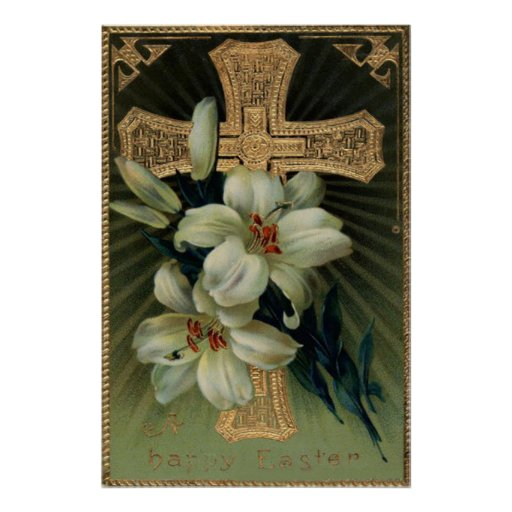 De Christelijke Gouden DwarsLelie van Pasen