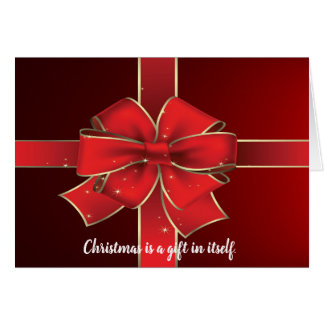 De Christelijke Kaart van de Vakantie van de Gift