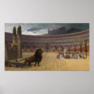 De Christelijke Martelaren duren Gebed Poster