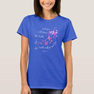 De Christelijke T-shirt van het Vers van de Bijbel
