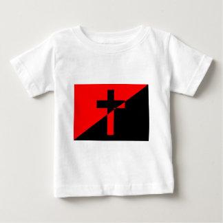 De Christelijke Vlag van het Christendom van de Baby T Shirts