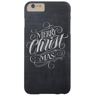 De Christelijke Vrolijke Kalligrafie van het Bord Barely There iPhone 6 Plus Hoesje