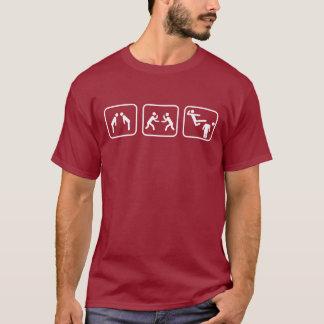 De Cijfers van de Stok van de karate T Shirt