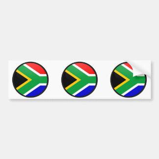 De Cirkel van de de kwaliteitsVlag van Zuid-Afrika Bumpersticker