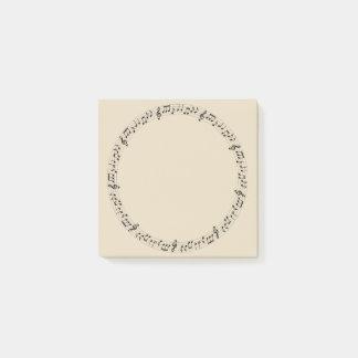 De Cirkel van de muziek Post-it® Notes