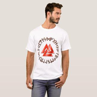 De Cirkel van de rune met Volknot T Shirt