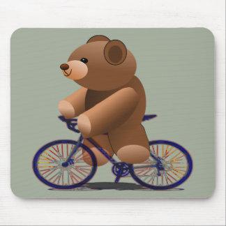 De cirkelende Druk van de Teddybeer Muismat