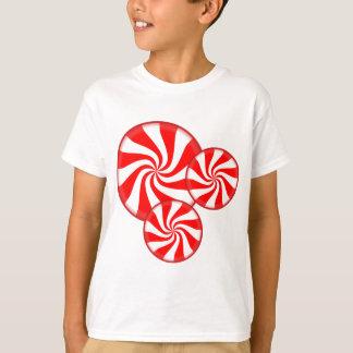 De Cirkels van de pepermunt T Shirt