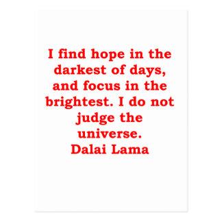 de citaten van de dalailama briefkaart