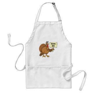 De Citaten van de Humor van de Thanksgiving Standaard Schort