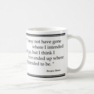 De Citaten van de Reis van Douglas Adams Koffiemok