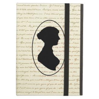 De Citaten van Jane Austen en de Dekking van het P iPad Air Hoesje