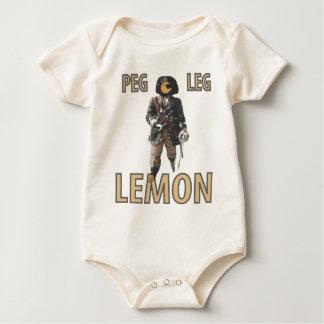 """De Citroen van de Pin van de piraat van het """"Been"""" Baby Shirt"""
