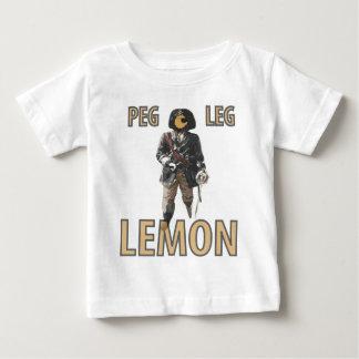 """De Citroen van de Pin van de piraat van het """"Been"""" Baby T Shirts"""