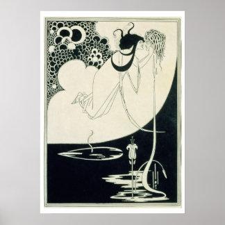 """De climax, illustratie van """"Salome"""" door Oscar Wi Poster"""